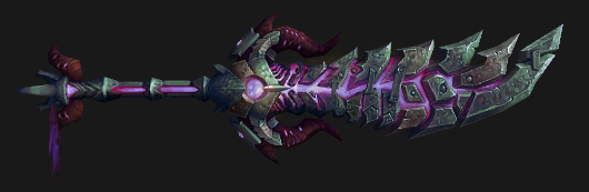 a darn fine looking weapon fro a death knight