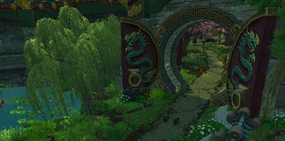 enter the realm of Pandaria